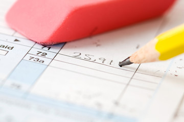 Taxes: Fixing A Mistake On Tax Form