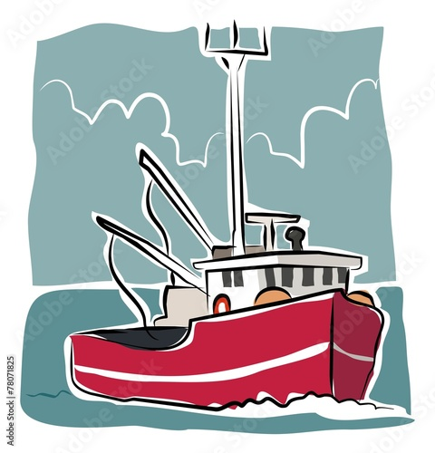 sketchy trawler - 78071825