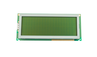 Empty liquid crystal display (LCD)
