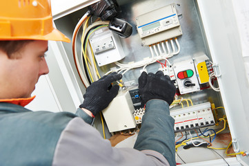 electrician engineer worker