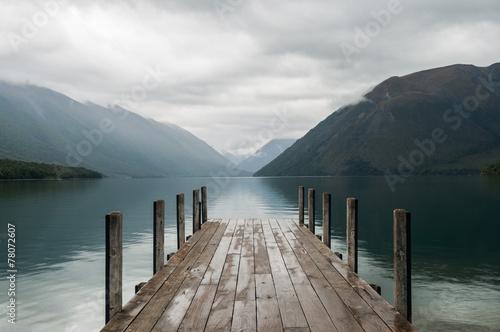 Foto op Canvas Nieuw Zeeland Nelson Lakes National Park New Zealand