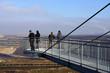 canvas print picture - Blick vom Skywalk in Tagebau Garzweiler bei Jackerath