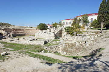 the ruins of Chersonese