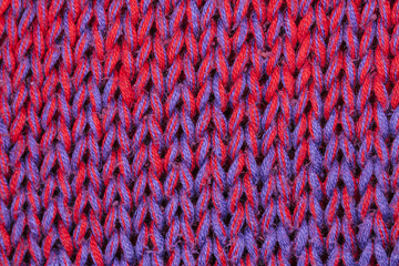 red and blue fibers