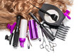 Leinwanddruck Bild - hairdresser Accessories