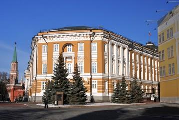 Moscow Kremlin. UNESCO World Heritage Site.