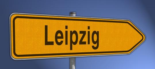Wegweiser Leipzig