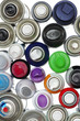 spray paint can objects isolated