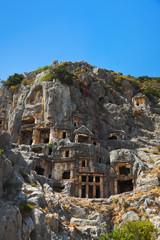 Ancient town in Myra, Turkey