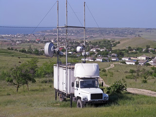 Vehicle designed for navigation near Kerch