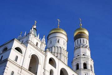 Ivan the Great Bell tower. Moscow Kremlin. UNESCO Heritage Site.