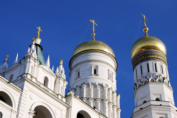 Ivan the Great Bell tower in Moscow Kremlin. UNESCO Heritage