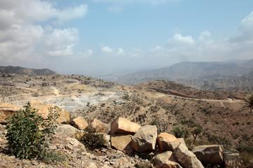 Desert near Dallol in Ethiopia
