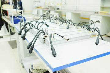 Production of electronic equipment LEDs