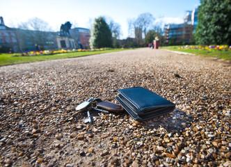 lost keys or wallet