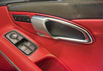 car interior close up