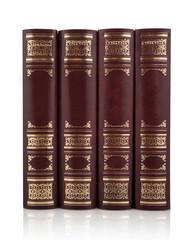 Antique books set