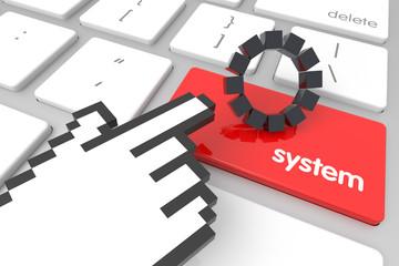 System Enter Key