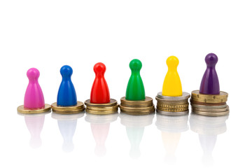 Earnings gap concept