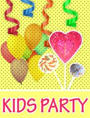 Colorful Kids Party poster