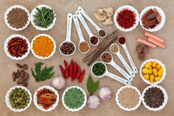 Herb and Spice Measurement