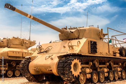 stary czołg