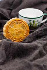 Delicious moon cakes