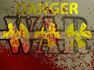 illustration: nuclear war, danger
