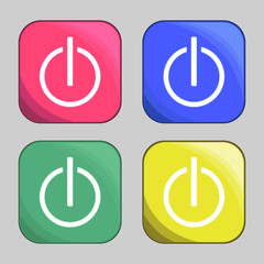 power buttons icons
