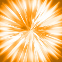 blurry zoom orange abstract background