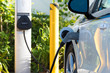 Electric car charging - 78089860