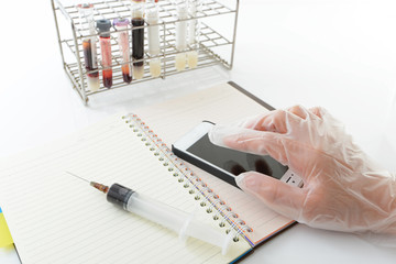 血液検査イメージ