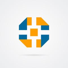Vector logo of camera shutter