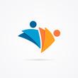 Abstract human logo - 78091442