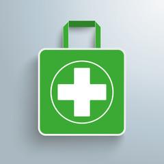 Paper Shopping Bag Drugstore PiAd