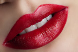 Fototapety Red lips