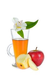 Apple juice and Apple