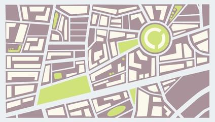 Map city color