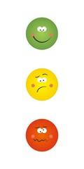 Emoticonos Caras V