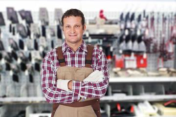 Portrait Of A Male Worker