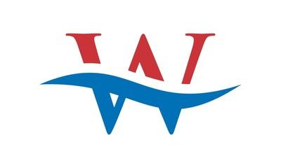 W Letter Logo (W Wave Logo)