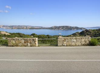 View to the Mediterranean sea.