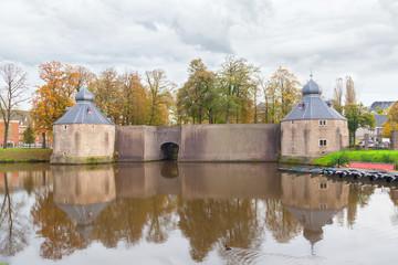 Castle of city Breda, Netherlands