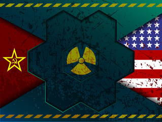 confrontation between the Soviet Union and the United States