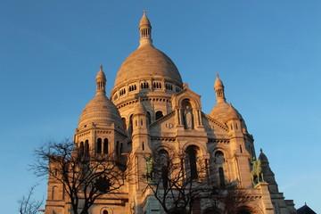 Sacré Coeur Basilica at Mont Martre in Paris