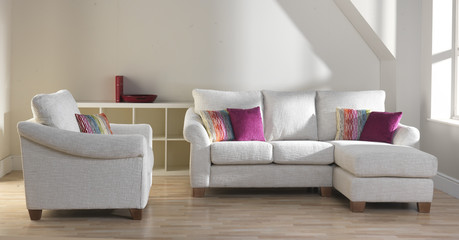 Trend Chaise Sofa and Chair