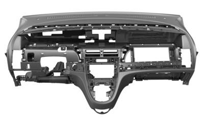 Каркас панели приборов современного автомобиля