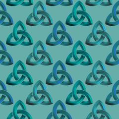 Seamless Celtic knot background