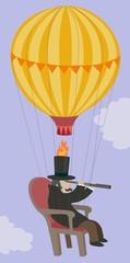 hot air balloon explorer