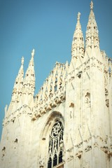 Milan retro. Cross processed tone.